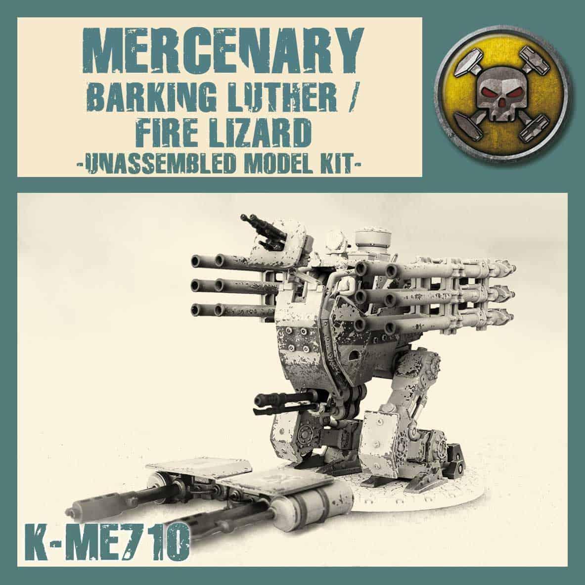 Barking Luther/Fire Lizard Kit