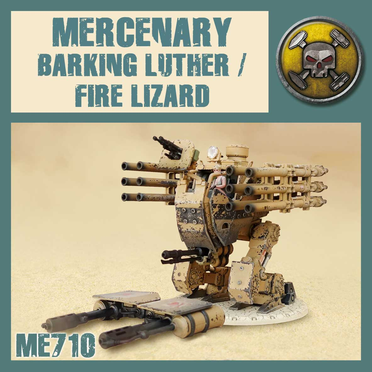Barking Luther/Fire Lizard