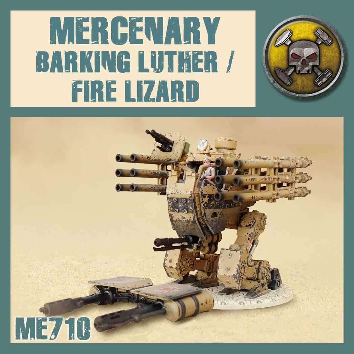 Barking Luther/Fire Lizard