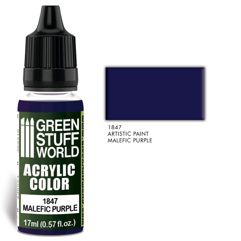 Acrylic Color Malefic Purple