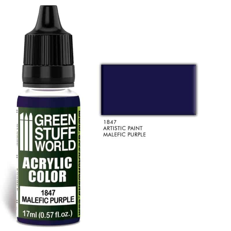 Malefic Purple Farba Akrylowa