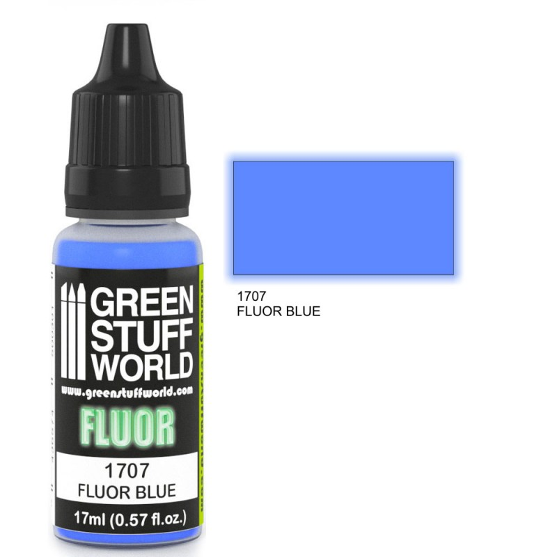Niebieska Farba Fluorescencyjna (Fluor Blue)