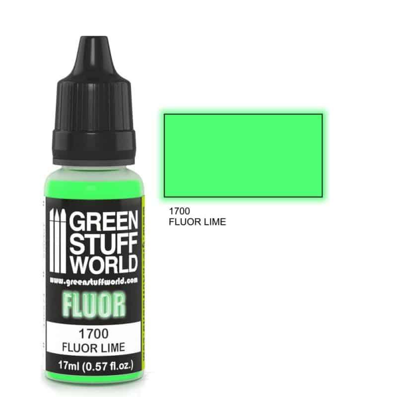 Limonkowa Farba Fluorescencyjna (Fluor Lime)