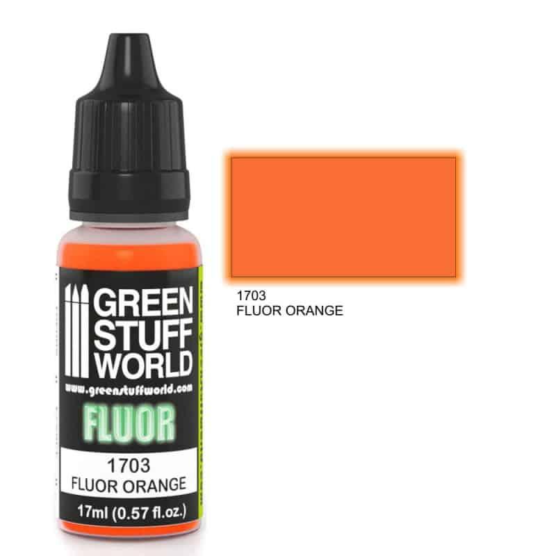 Pomarańczowa Farba Fluorescencyjna (Fluor Orange)