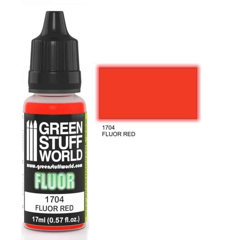 Czerwona Farba Fluorescencyjna (Fluor Red)