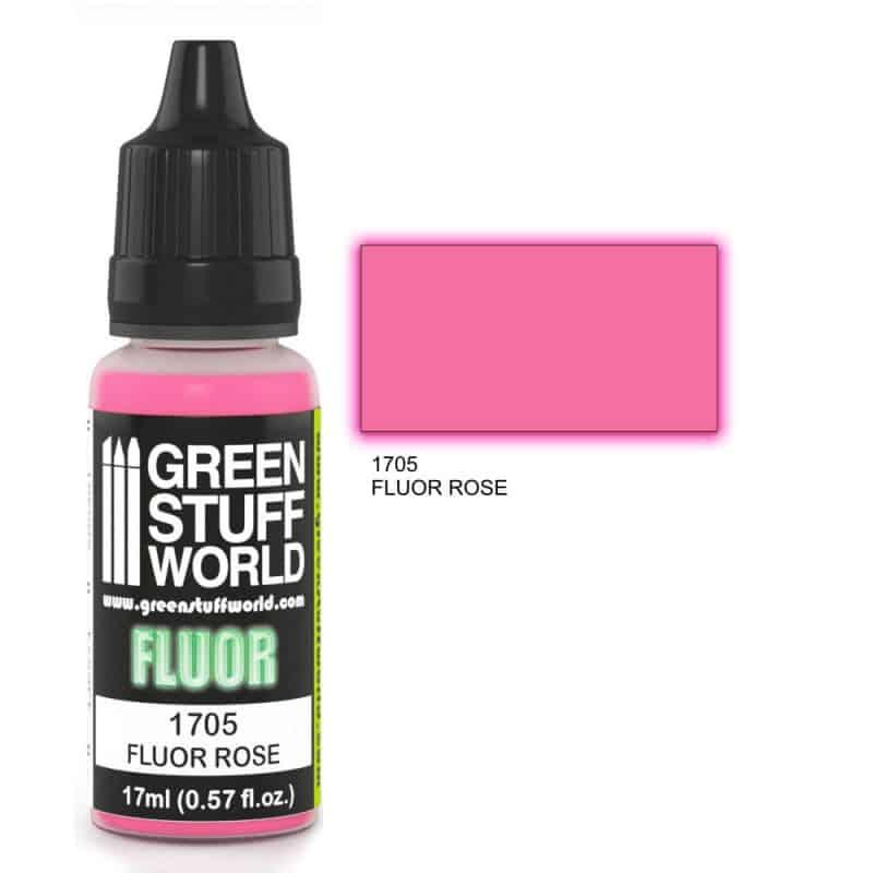 Różowa Farba Fluorescencyjna (Fluor Rose)