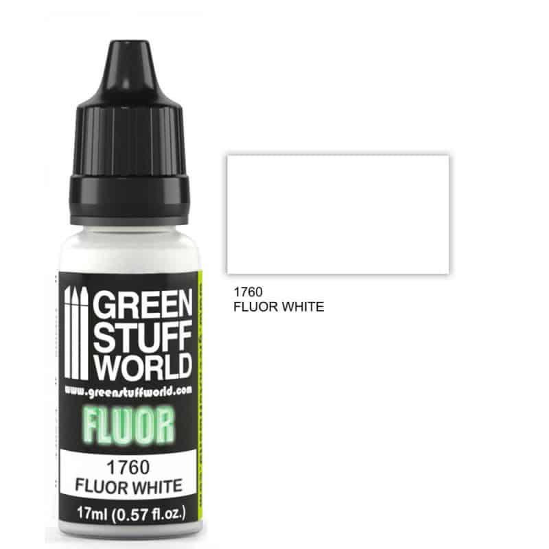 Biała Farba Fluorescencyjna (Fluor White)