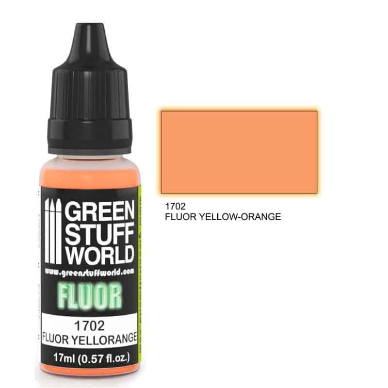 Żółto-pomarańczowa Farba Fluorescencyjna (Fluor Yellow-Orange)