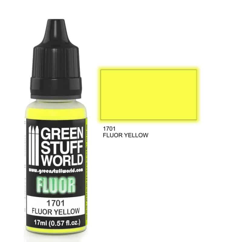 Żółta Farba Fluorescencyjna (Fluor Yellow)