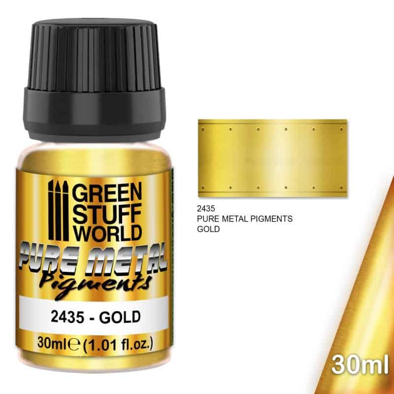 Pigment Złoto (Gold)