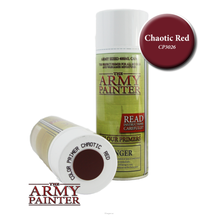 Colour Primer - Chaotic Red