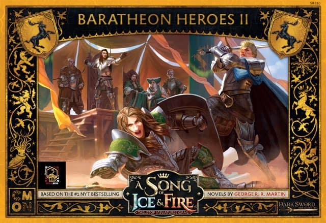 Bohaterowie Baratheonów II