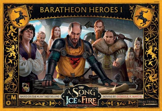 Bohaterowie Baratheonów I